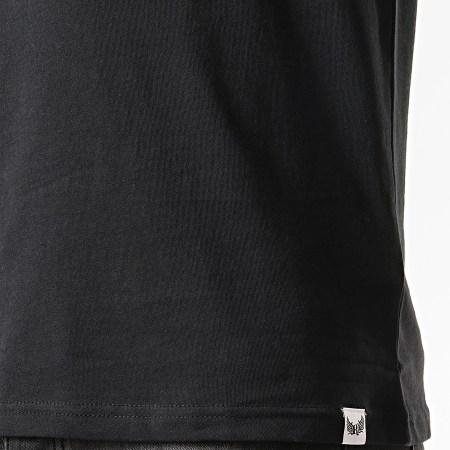 Kaporal - Tee Shirt Olrik Noir Rouge Blanc