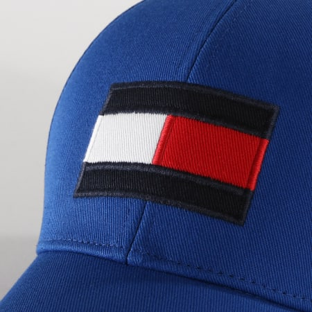 Tommy Hilfiger - Casquette Big Flag Cap 4508 Bleu Roi