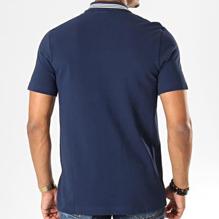adidas - Polo Manches Courtes Stripe EC9307 Bleu Marine