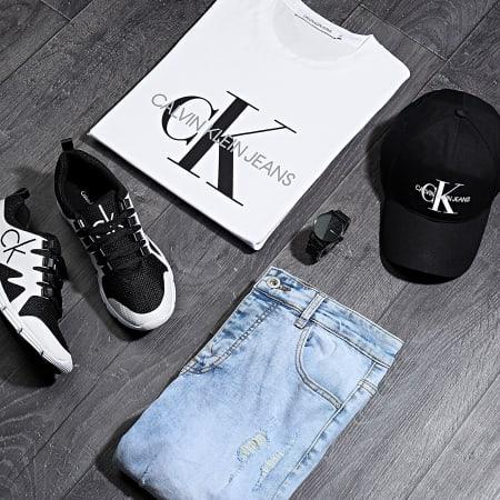 Calvin Klein - Tee Shirt Monogram 4314 Blanc