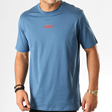 HUGO By Hugo Boss - Tee Shirt Durned 194 50414181 Bleu Clair