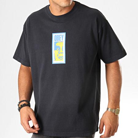 Obey - Tee Shirt Slim Icon Noir