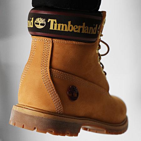 Timberland - Boots Femme Premium 6 Inch Waterproof A25MK Wheat Nubuck
