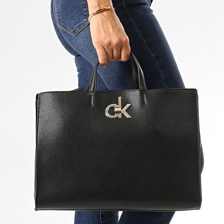 Calvin Klein - Sac A Main Femme Re-Lock Tote 5605 Noir