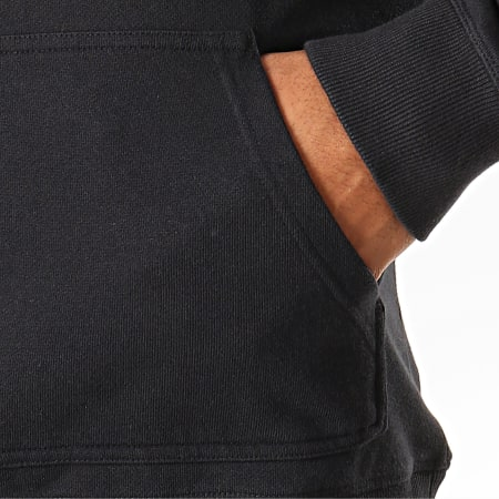 Calvin Klein Jeans - Sweat Capuche Monogram 3219 Noir