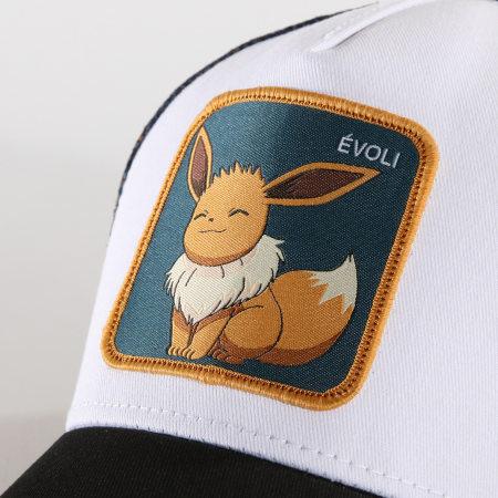 Pokémon - Casquette Trucker Evoli Bleu Marine Blanc