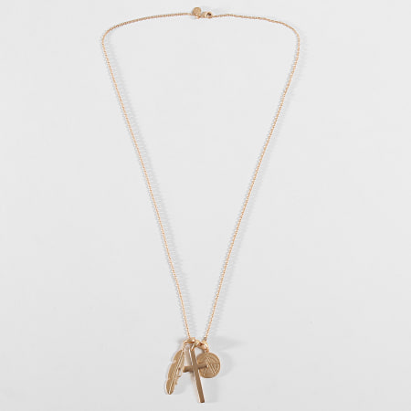 Chained And Able - Collier Matt Cross Bunch NB16045 Doré
