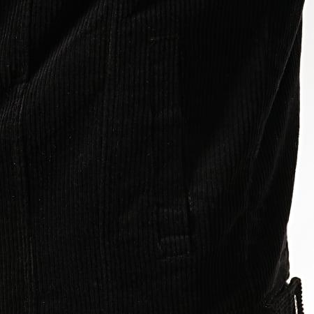 Frilivin - Veste Velours Col Mouton QQ536 Noir