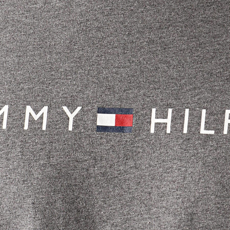 Tommy Hilfiger - Tee Shirt Manches Longues CN 1171 Gris Chiné