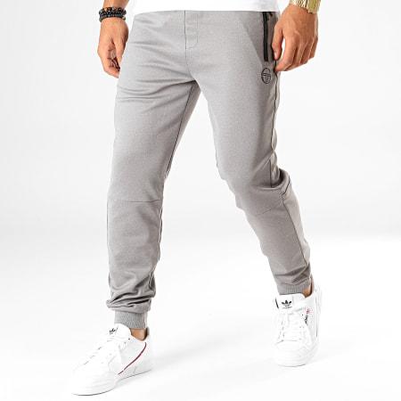 Sergio Tacchini - Pantalon Jogging Donet 38361 Gris Chiné