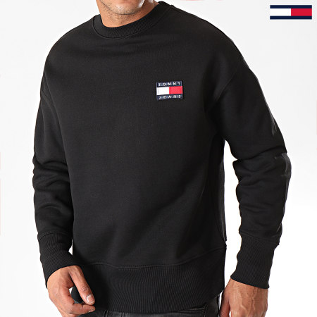 Tommy Jeans - Sweat Crewneck Badge 6592 Noir