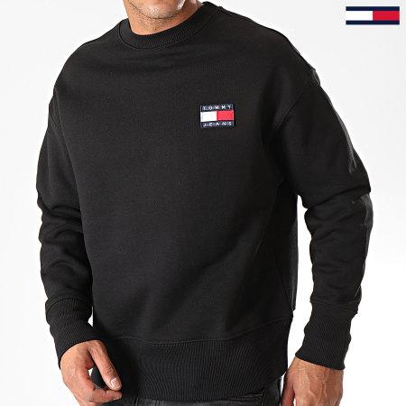 Tommy Hilfiger Jeans - Sweat Crewneck Badge 6592 Noir