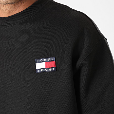 Tommy Hilfiger Jeans - Sweat Crewneck Badge 6592 Noir