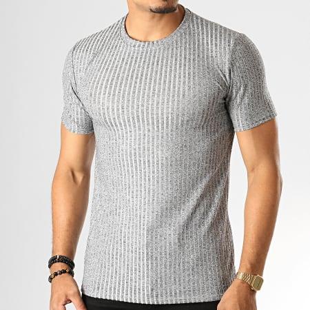 Uniplay - Tee Shirt T651 Gris Chiné