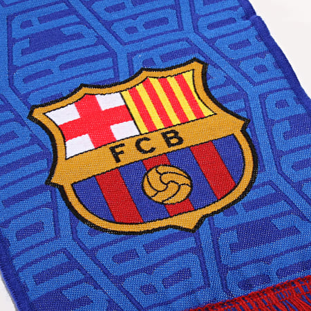 FC Barcelona - Echarpe All Over Bleu Roi