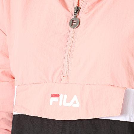 Fila - Coupe-Vent Femme Avec Capuche Pavlina 687275 Rose Noir