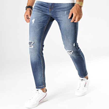 MTX - Jean Slim J2992 Bleu Denim