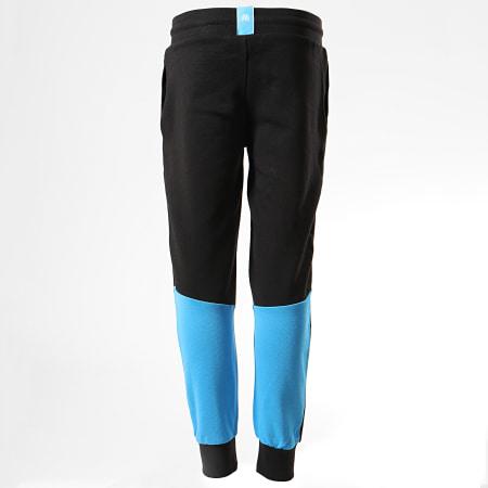 OM - Pantalon Jogging Enfant OM Fan M19037 Noir Bleu Clair