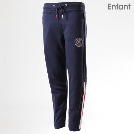 PSG - Pantalon Jogging Enfant PSG P13106 Bleu Marine