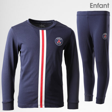 PSG - Ensemble Pyjama Enfant PSG P13145C Bleu Marine