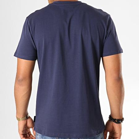 PSG - Tee Shirt Big Logo P13046C Bleu Marine