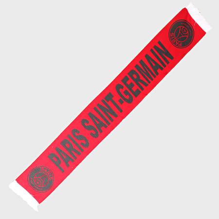 PSG - Echarpe Paris Saint-Germain IV Rouge Gris Anthracite