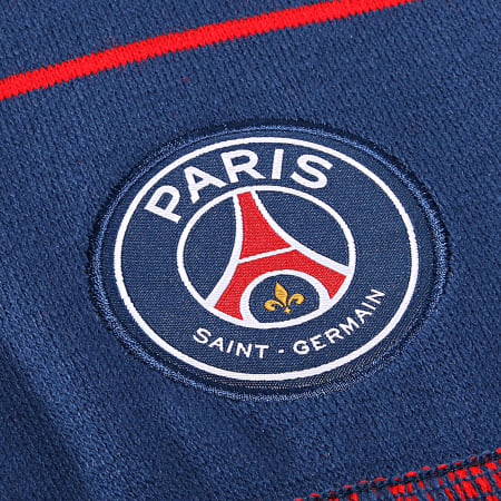 PSG - Echarpe Jaquard Badges Bleu Marine