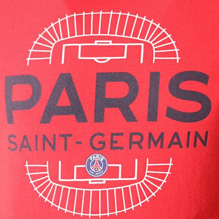PSG - Tee Shirt Enfant PSG Parc Des Princes P13096C Rouge
