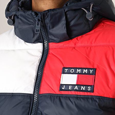 Tommy Hilfiger Jeans - Doudoune Essential Colorblock 7116 Bleu Marine Rouge Blanc