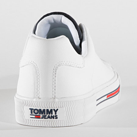 Tommy Hilfiger Jeans - Baskets Essential Padded Tongue 0361 White