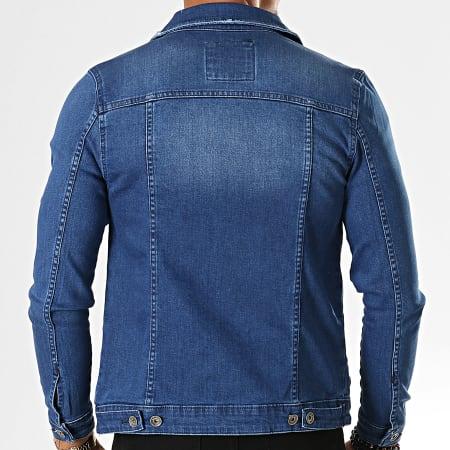 Mackten - Veste Jean 575 Bleu Denim