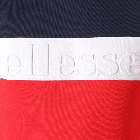 Ellesse - Sweat Crewneck Torre SHC07386 Rouge Bleu Marine Blanc
