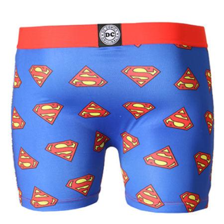 Freegun - Boxer Enfant Superman Bleu Roi