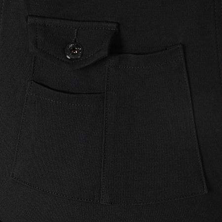 Girls Only - Salopette Pantalon Femme Q016 Noir