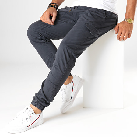 Indicode Jeans - Jogger Pant Levi Bleu Marine Foncé