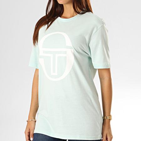Sergio Tacchini - Tee Shirt Femme Barbora 38065 Vert Clair