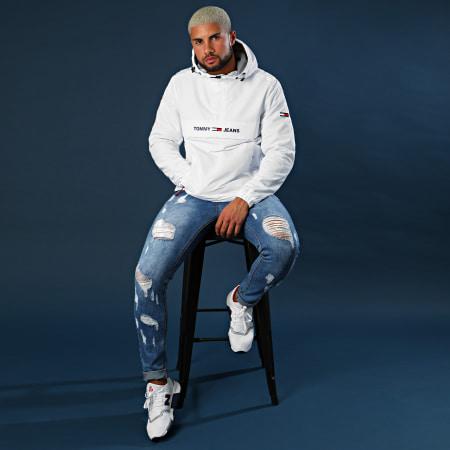 Tommy Hilfiger Jeans - Veste Outdoor Padded Popover 7121 Blanc
