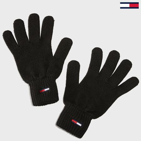 Tommy Hilfiger Jeans - Gants Basic Flag 5217 Noir