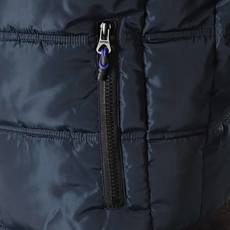 Kaporal - Doudoune Minik Bleu Marine Noir