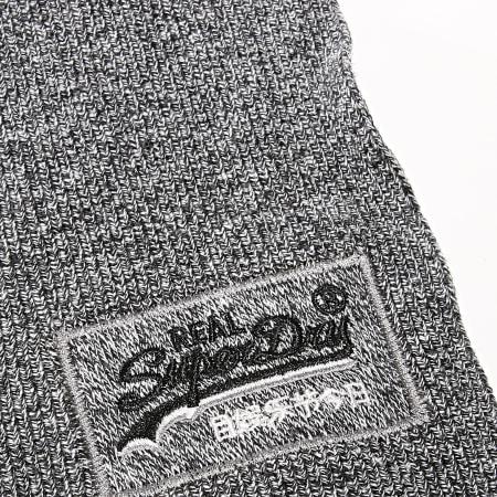 Superdry - Echarpe Orange Label M9300004A Gris Chiné