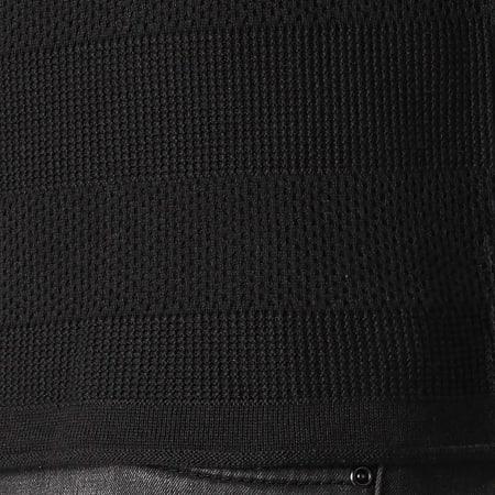 Ikao - Pull F607 Noir