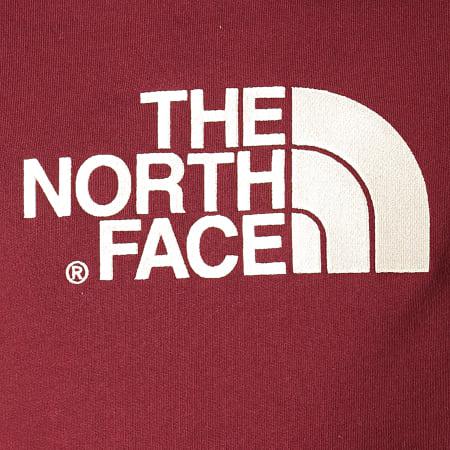The North Face - Sweat Capuche Drew Peak AHJY Bordeaux Bleu Marine Beige