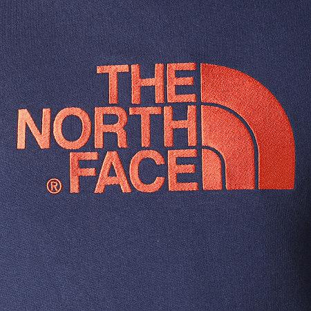 The North Face - Sweat Capuche Drew Peak AHJY Bleu Marine Orange