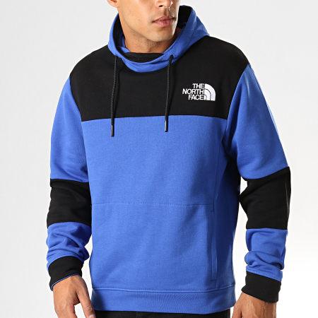 The North Face - Sweat Capuche Himalayan 3L6I Bleu Roi Noir