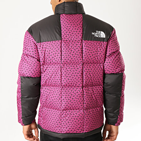 The North Face - Doudoune Lhotse 3Y23 Rose Noir