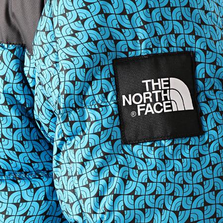 The North Face - Doudoune Lhotse 3Y23 Bleu Turquoise Noir