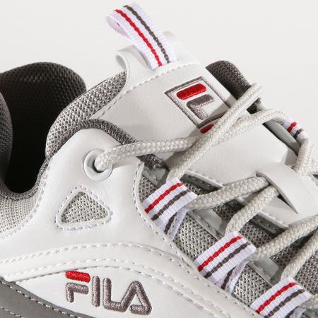 Fila - Baskets Ray CB Low 1010723 White Grey Violet