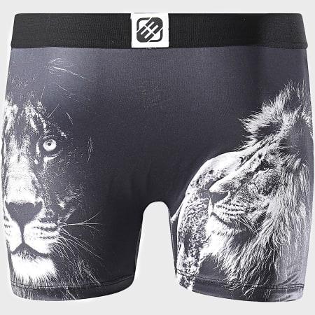 Freegun - Boxer Print Lion Noir