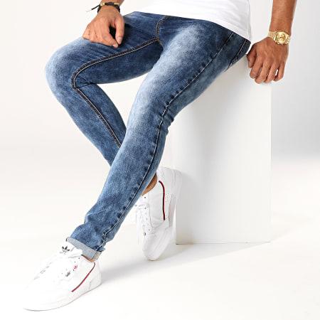 LBO - Jean Skinny BO15 Bleu Medium