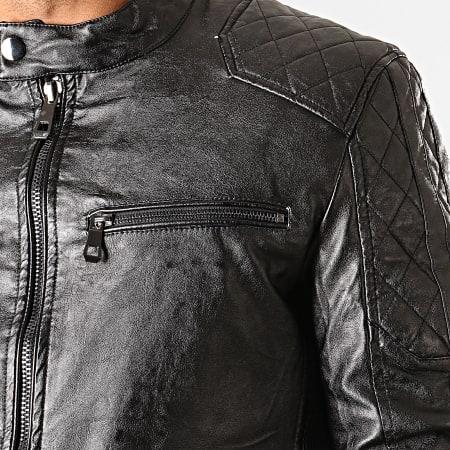 MTX - Veste Biker 932 Noir